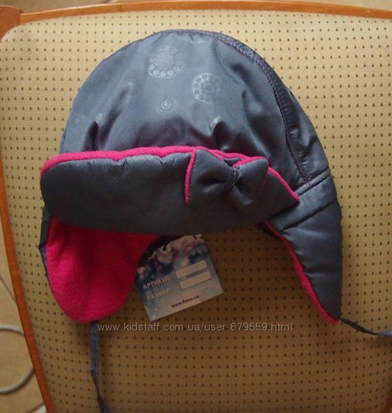 шапка Фиона 52-53 для девочки зима