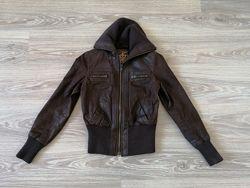 куртка кожа New Look S евро 38 UK 10