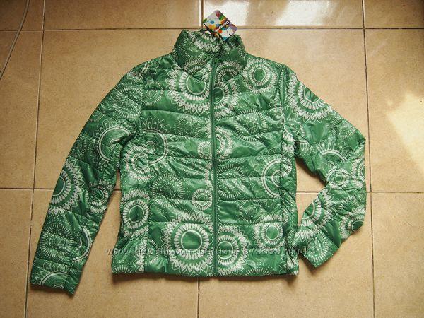 куртка Desigual евро 42 укр 46-48 тонкий синтепон
