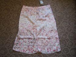 юбка Orsay евро 40 цветы шелковый полиэстр