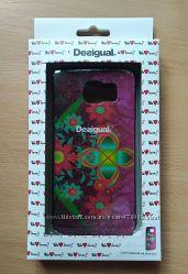 Чехол для Samsung galaxy 6 Desigual цветы