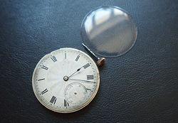 Запчасти для швейцарских золотых часов 19в. стекло механизм луковица