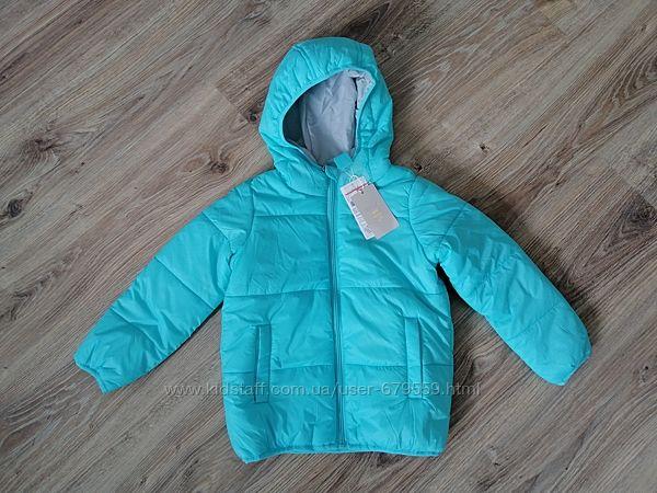 Куртка sela 5 лет голубая синтепон
