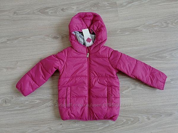Куртка sela 5 лет розовая синтепон