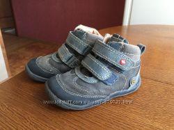 Ботинки демисезонные Garvalin кожа, р. 24, мальчик, стелька 14, 5 см