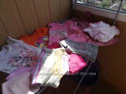 Комплекты вещей H&M, George, Next и др пакетом для девочки