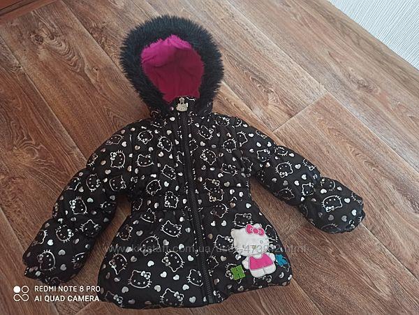 Демисезонная куртка Hello Kitty оригинал для девочки