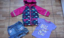 АКЦИЯ СКИИДКА 20 Комплект одежды на девочку 2 года р 92 3 единицы