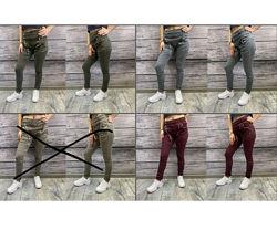 Акция Женские лосины джинсы 3 цвета котон