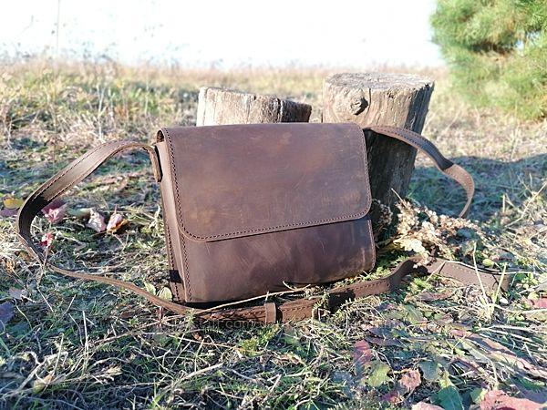 Женские кожаные сумки через плече львыв Украина шкыра