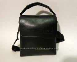 Мужская кожаная сумка барсетка через плечо для денег чоловіча с ручкой 016a67acc2b8e