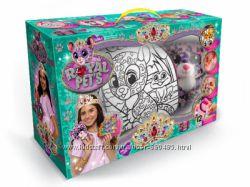 Набор для творчества Danko Toys ROYAL PETS - сумка раскраска с собачк