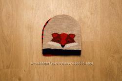 Early Days  шапка, набор для мальчика Лисёнок 12-24м