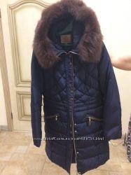 Пуховик, зимнее пальто с капюшоном