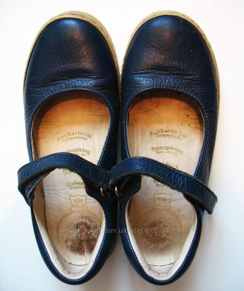 Туфли деми кожа 30 размер Vera Pelle.