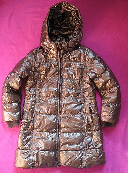 Медная куртка на 5-7 лет Mexx удлинённая.