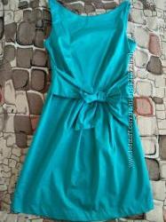 Бирюзовое платье OSTIN идеальное состояние