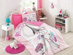 Cotton Box Детское подростковое постельное белье Best Friend pembe, Турция