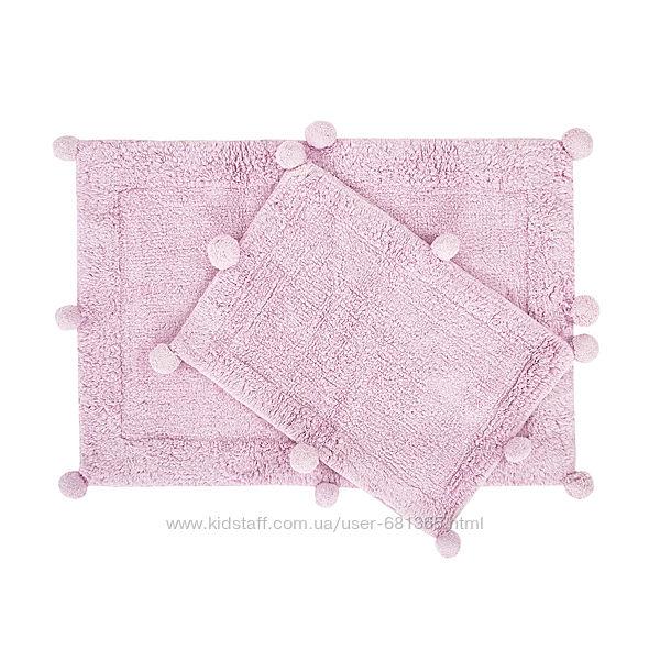 Irya Набор ковриков с помпонами 60x90 и 40x60 New Stria - Ирья Турция