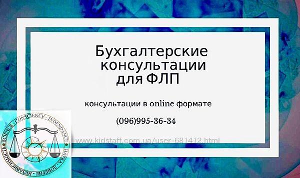 Бухгалтерские консультации для ФЛП