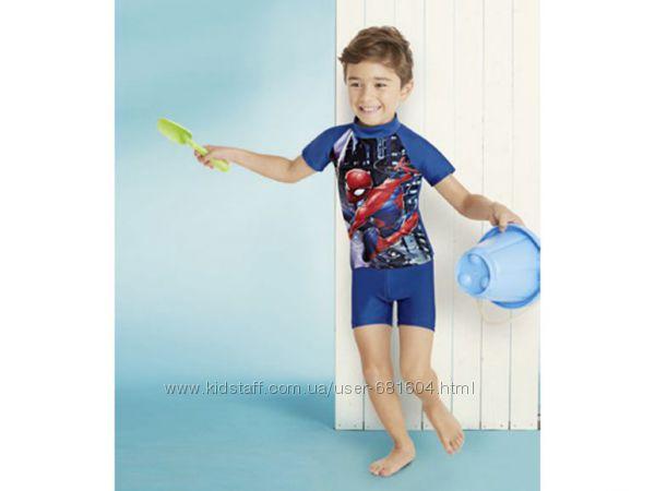 Солнцезащитный купальный костюм Spider man р-р 74-80