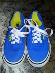 Синие кеды Vans оригинал US 11 стелька 18 см в идеальном состоянии