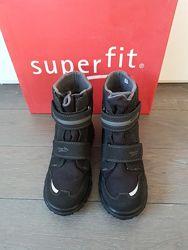 Зимние сапоги ботинки Superfit Husky 2 черные p.36 23.5 см в идеальном сост