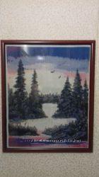 Картина ручной работы вышивка крестом