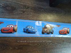 Бордюр на обои Наклейка декор в детскую Макквин