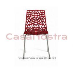 Стул стол GROOVE разные цвета, пластик, Италия, GRANDSOLEIL, Скидки
