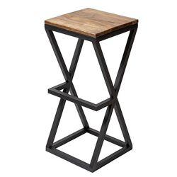 Стул барный стілець 8, цвета белый, черный, дерево ясень, СКИДКИ, тм Lovko