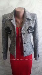 Пиджак из твида классический