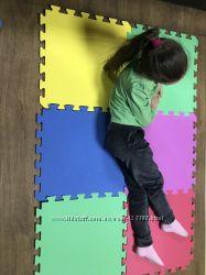 Коврик пазл супер коврики для любых поверхностей ЕВА и ППЭ