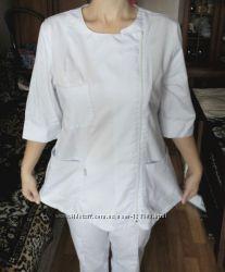 Медицинский костюм, белый