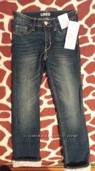модные джинсы на  подкладке