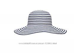 Шляпа женская пляжная для пляжа белая шляпка панама Feba F65 KAP 5 2018