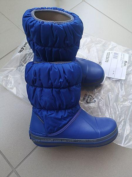 Сапоги Crocs winter puff boot kids