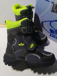 Зимние мембранные ботинки Lico размер 28