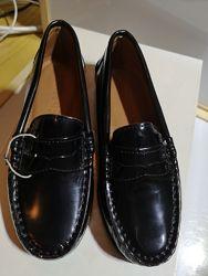 Кожаные туфли  Armani 31 Оригинал