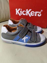 Кожаные туфли кроссовки KicKers Оригинал