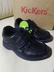 Крутые кожаные туфли KicKers Франция