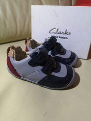 Кожаные туфли кроссовки  Clarks Оригинал 21