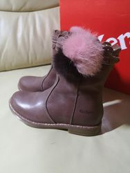 Кожаные деми ботинки  KicKers  27  Оригинал