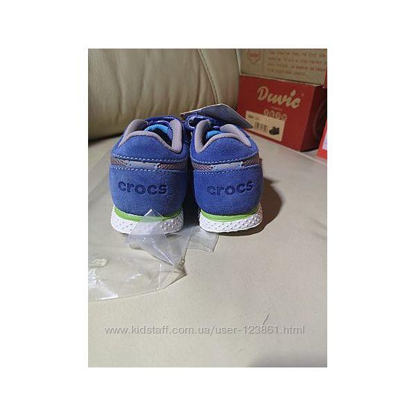 Новые суперовские кроссовки Crocs c6 22-23 Оригинал
