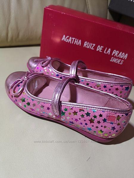Туфельки Agatha Ruiz De La Prada Garvalin Оригинал 32 размер