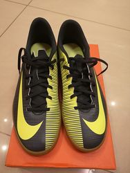 Кроссовки Nike mercurialx vortex cr7 ic 44 размер. Оригинал
