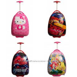 Детские чемоданы на колесиках  мультяшные герои