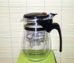 Чайник Teapot с кнопкой,  500 мл. 17-1