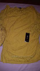 Шикарная кофточка гипюр из Америки Style&Co, Macys - c этикеткой - размер S