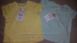 Zara модные футболочки 6-9 мес. , с этикетками, из Америки